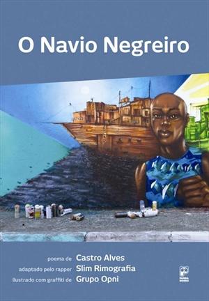 livro navio negreiro - slim rimografia