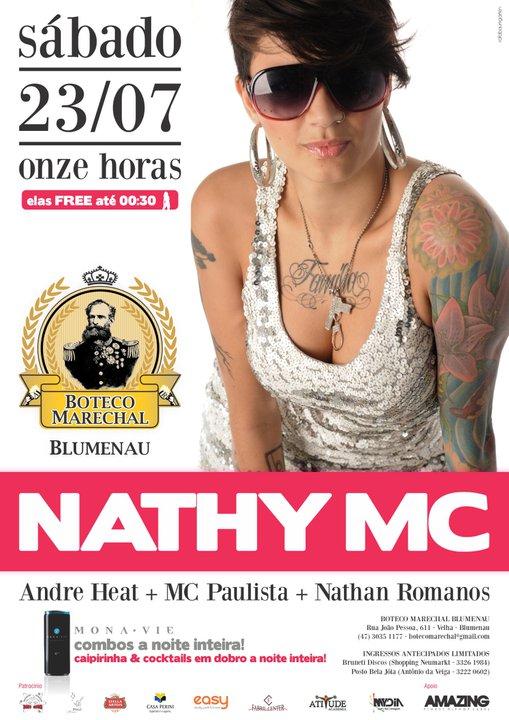 Nathy MC - Boteco Marechal/Blumenau-SC