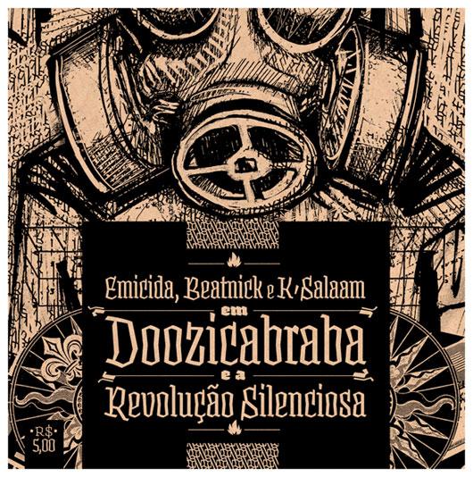 Capa da EP Doozicabraba e a Revolução Silenciosa - Emicida
