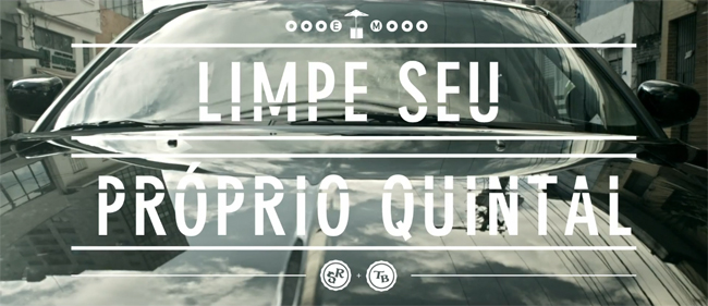 """Clipe """"Limpe seu próprio quintal"""" de Slim Rimografia e Thiago Beats"""