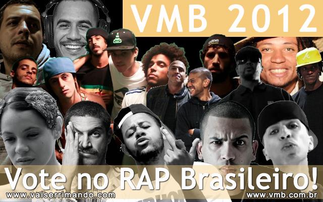 RAP Brasileiro no VMB 2012
