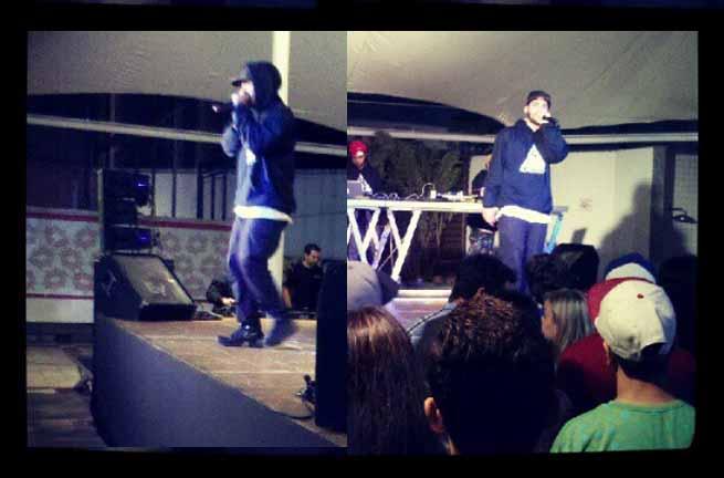 AXL no palco em São José dos Campos