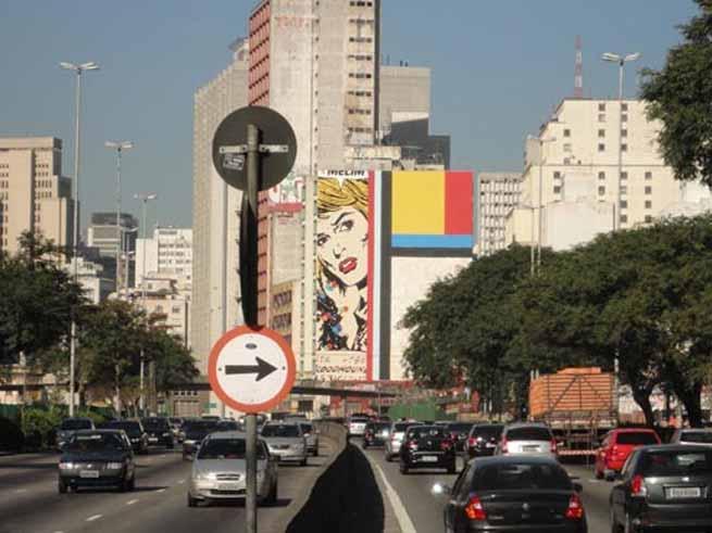 Artista arrecada dinheiro para salvar grafite em São Paulo