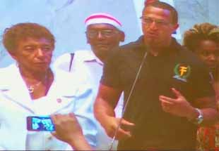 Mano Brown no Prêmio Santo Dias de Direitos Humanos