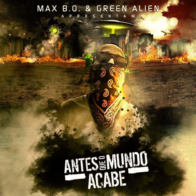 Capa do EP Antes que o mundo acabe