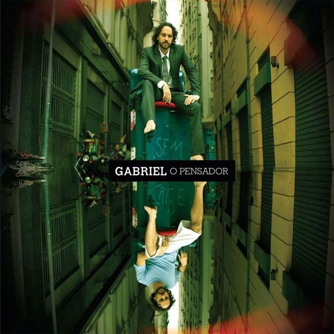 Capa do CD Sem Crise, do Gabriel o Pensador