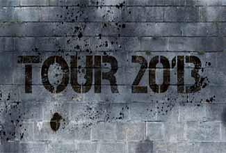 Cone Crew Diretoria na Tour 2013