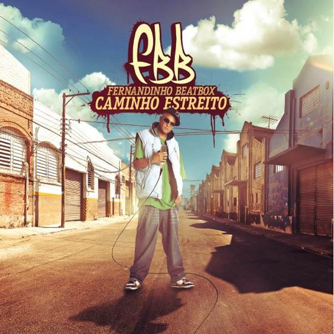 Capa do CD Caminho Estreito, do Fernandinho Beatbox