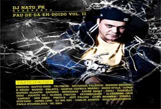 Mixtape Pau-de-da-em-doido vol. 2, do DJ Nato PK