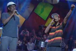 Black Alien e Luiz Melodia no Altas Horas