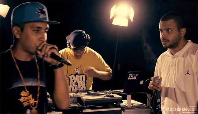 DJ Nato PK, Rashid e Projota em Dá um Jeito
