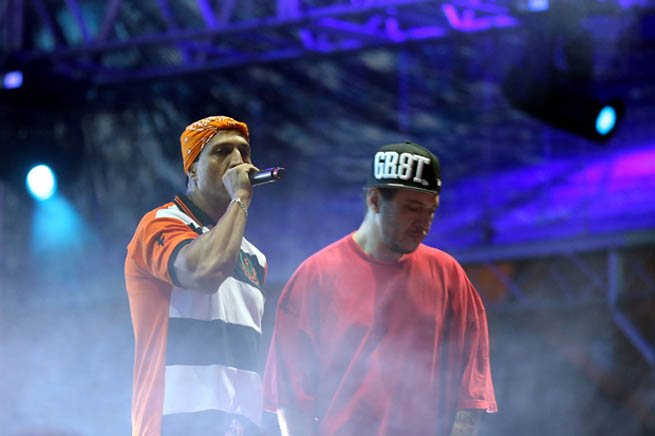 Mano Brown e Chorão