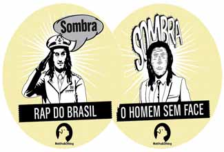 Vinil single do Sombra