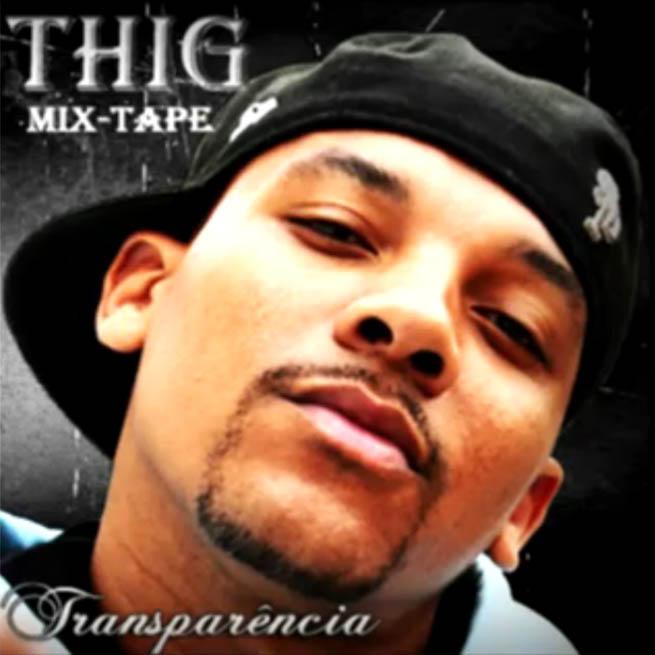 Capa da Mixtape Transparência, do Thig