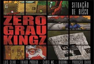 Música Situação de Risco, do Zero Grau Kingz