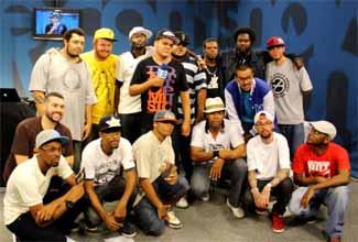 DJ Nato PK e vários rappers no Estúdio Showlivre