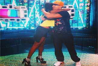 Mano Brown e Pathy Dejesus no TOP 10, da MTV