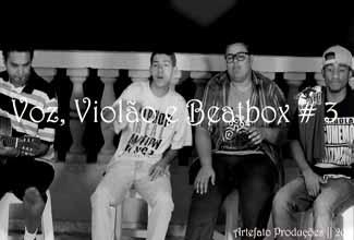 """Voz, Violão e Beatbox 3: Jotace Rhazec canta """"DC"""""""