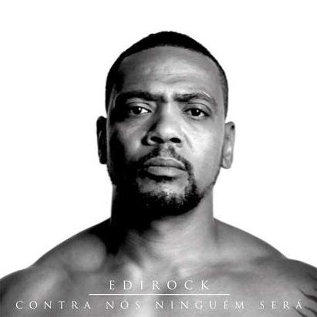 Capa do CD Contra nós ninguém será, do Edi Rock