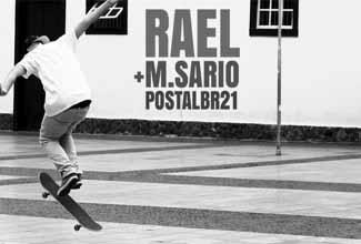 Rael e MSário no Postal BR