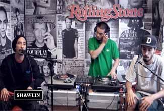 Shawlin no Estúdio Rolling Stones
