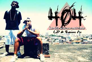 """Ramires Ax e Liip, de Salvador/BA, lançaram o web vídeo da música """"404 Limite não encontrado"""", produzida pelo próprio Liip."""