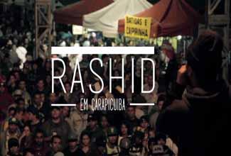 Rashid em Carapicuiba