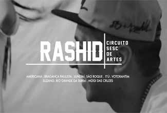 Turnê do Rashid pelo interior de São Paulo