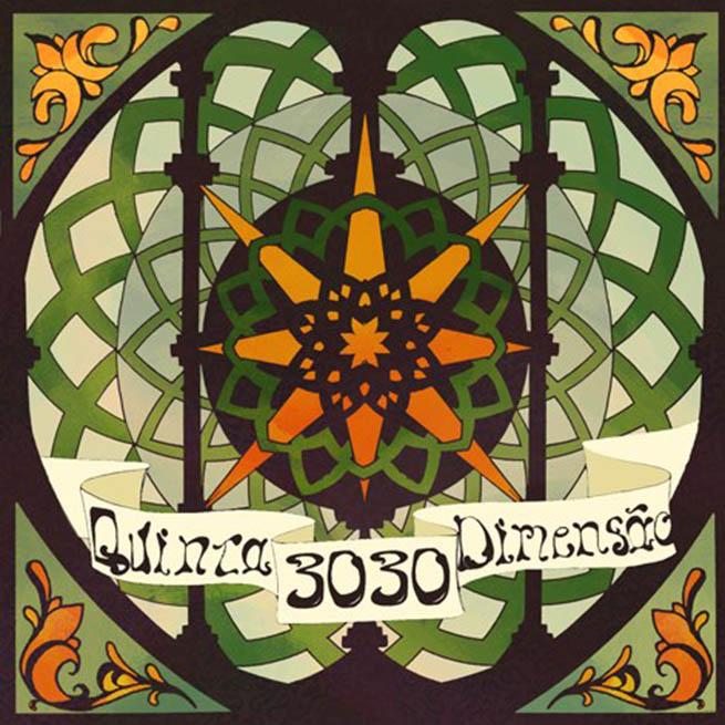 Capa do CD Quinta Dimensão, do 3030