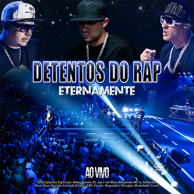 Capa do CD ao vivo do Detentos do RAP
