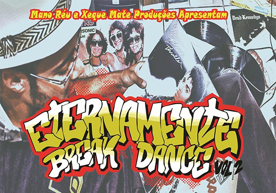 CD Eternamente Break Dance, do Mano Réu
