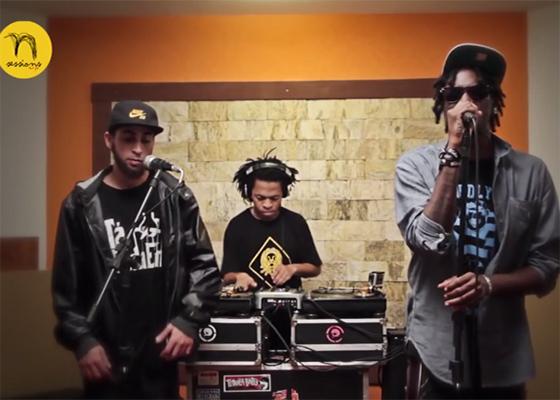 Zudizilla, Pok Sombra e DJ Micha na N Sessions