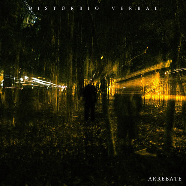 Capa do CD Arrebate, do Distúrbio Verbal