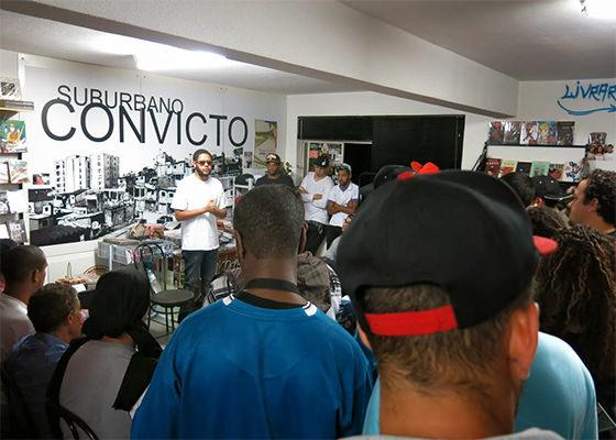Emicida no Sarau Suburbano Convicto