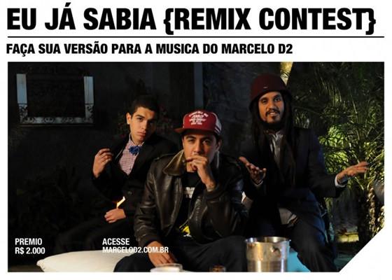 Concurso de Remix do Marcelo D2
