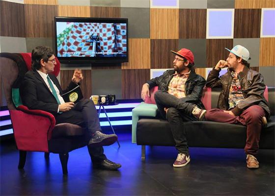 Os Gêmeos no Paulo Miklos Show