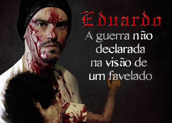 Livro A Guerra Não Declarada na Visão de um Favelado, do Eduardo
