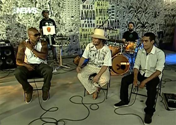 MV Bill, RAPadura e Ramonzin no Programa Sarau