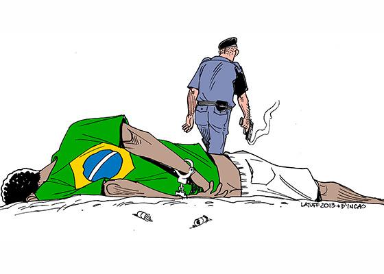 Violência contra negros no Brasil