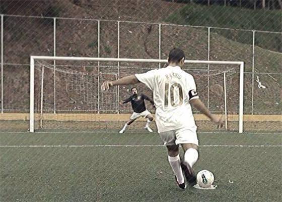 Rashid no clipe Bate e Gol