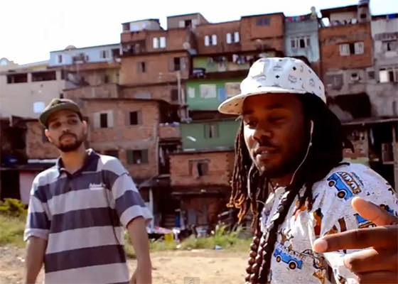 Renan Samam e Like, do Pac Div, em São Paulo