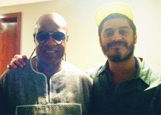 Stevie Wonder e Criolo