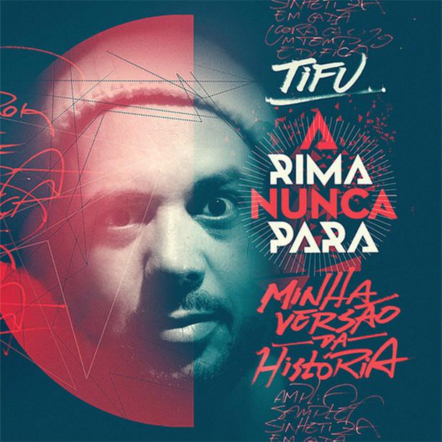 CD A Rima Nunca Para, do Tifu