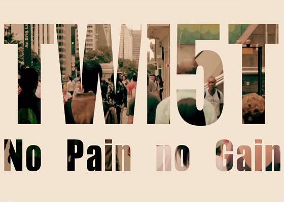 Clipe No Pain No Gain, do Twi5t
