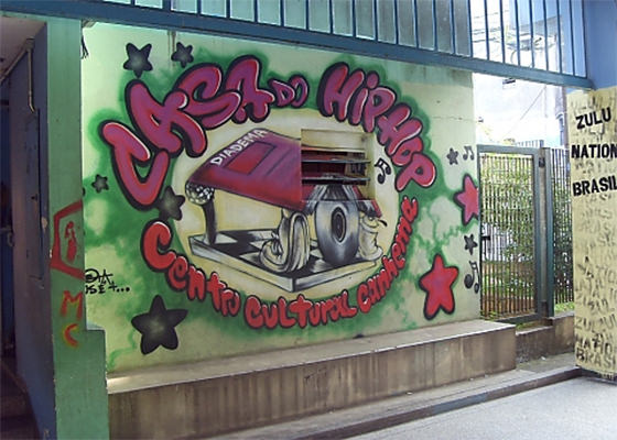 Casa do Hip Hop, em Diadema/SP