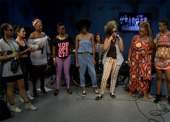 Divas do Hip Hop no Estúdio Showlivre