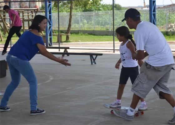 Projeto Manobra do Bem da ONG Skate Social