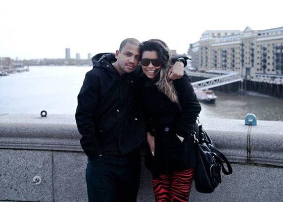 Projota e Bruna em Londres