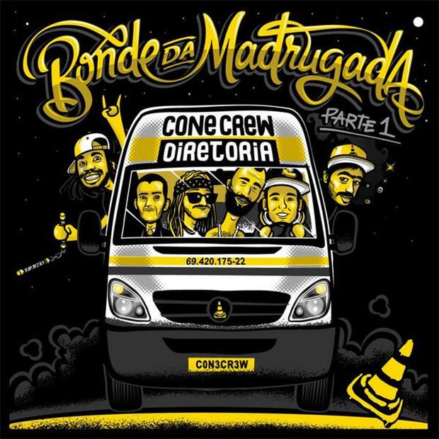 Capa do CD Bonde da Madrugada, da Cone Crew Diretoria