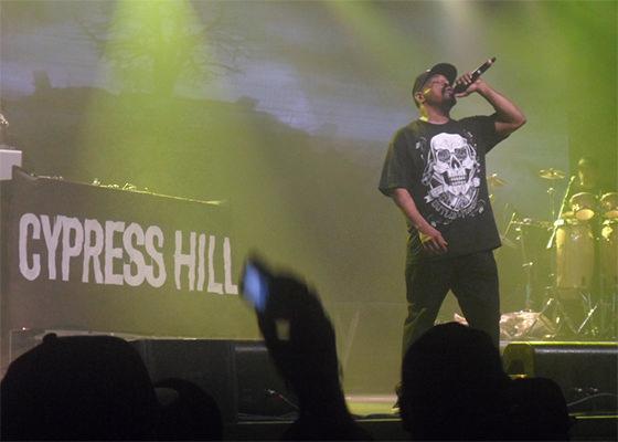 Cypress Hill em São Paulo (Foto: Fabio Barbosa)